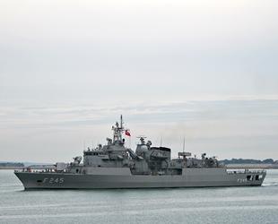 Oruç Reis, Nautical Geo gemisini Mavi Vatan'a sokmadı