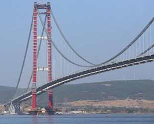 1915 Çanakkale Köprüsü'nün geçiş ücreti belli oldu
