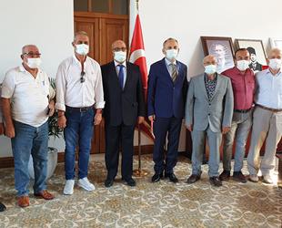 İMEAK DTO İskenderun Şubesi Yönetimi, Kaymakam İskender Yönden'i ziyaret etti