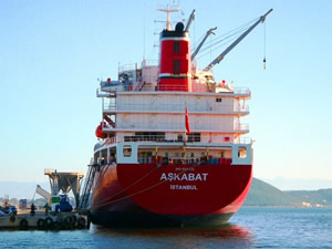 Devmarin, M/V BAKU ve M/V ASKABAT isimli gemileri Oba Makarna'ya sattı