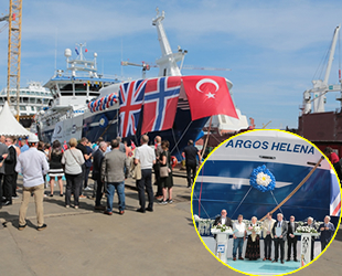 Tersan Tersanesi, Argos Helena gemisini teslim etti