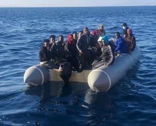 İzmir açıklarında 197 düzensiz göçmen yakalandı