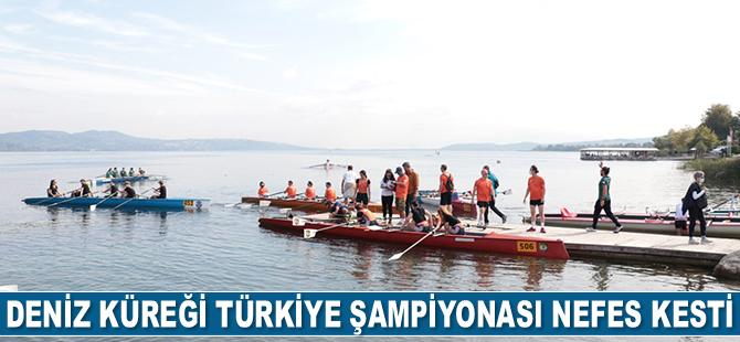 Deniz Küreği Türkiye Şampiyonası sona erdi