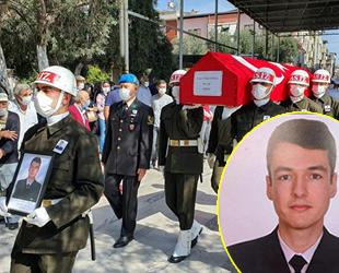 Deniz Mühendis Teğmen Yaşar Eskicioğlu, Aydın'da son yolculuğuna uğurlandı