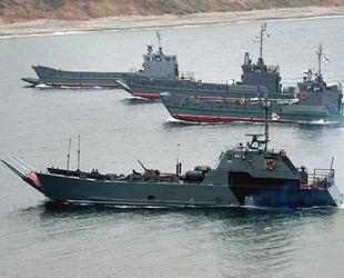 Rus gemileri, Japon Denizi'nde füze atışları gerçekleştirdi