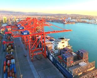 Mersin Uluslararası Limanı, 8 ayda yüzde 10 büyüdü