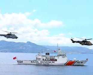 Anadolu Yıldızı 2021 Tatbikatı, Ege Denizi'nde başladı