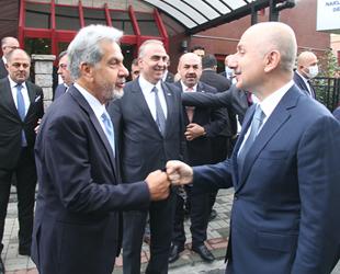 Ulaştırma ve Altyapı Bakanı Adil Karaismailoğlu, UND'yi ziyaret etti