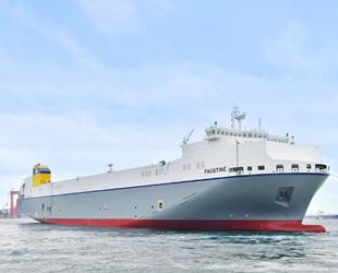 Güney Kore'de inşa edilen ilk LNG yakıtlı Ro-Ro gemisi teslim edildi