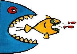 """""""Balık yiyin suç işlemeyin!"""""""