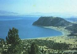 Burdur Gölü'nde feribotlu günler