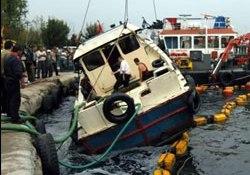 Tekneden Haliç'e 7 ton mazot aktı...