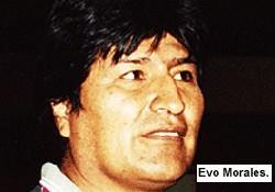 Morales'in Avrupa gündemi enerji
