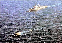 ABD donanması korsanlarla çatıştı
