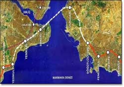 "The Guardian; ""Marmaray gecikir"""