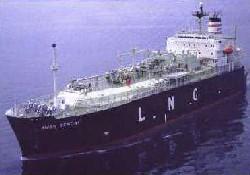 Doğalgaz tankerleri boğazdan geçti