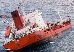 """Ofer'in tankeri """"M/T ECE"""" çatıştı"""