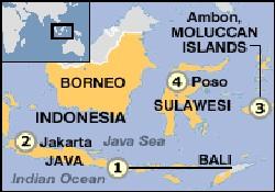 Endonezya'da feribot battı