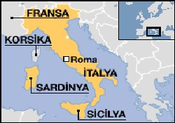 A. DEVAL Sicilya'da karaya oturdu