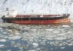 Seabulk Alaska'da karaya oturdu