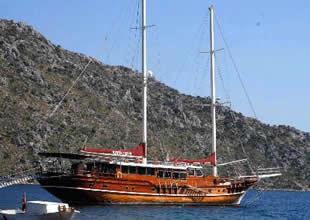 Fethiye'de tekne ve yat model yarışması