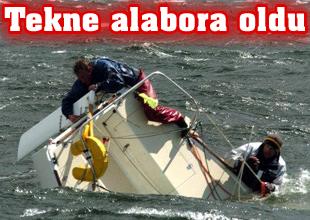 Ege'de kaçak göçmen taşıyan tekne battı