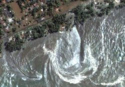 İlginç Uydu görüntüleri...