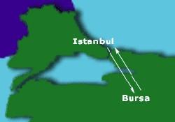 Bursa-İstanbul arası kısalıyor