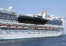 Cruise gemisinde yangın: 1 ölü