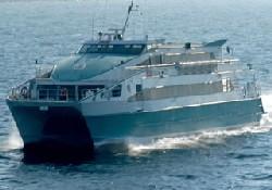 Deniz Otobüsü kontrolden çıktı