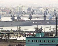 CHP İskenderun limanına kilitlendi
