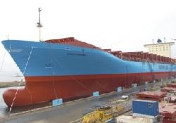 Maersk'in gemisine isim verildi