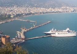 İsrail gemileri 6 ay sonra Alanya'da