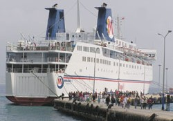 Alanya'ya 3. İsrail gemisi yanaştı