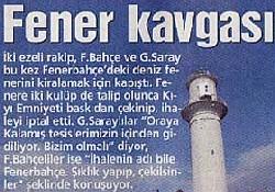 Fenerbahçe Feneri kavgası büyüyor