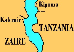 Tangankiya gölünde tekne battı