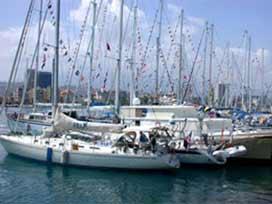 Tekneler Ataköy'de görücüye çıktı