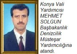 Mehmet Solgun Müs. Yard. atandı