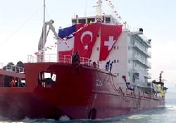İlk otel gemi denizle buluştu