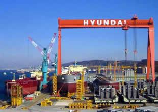 Güney Kore'de gemi inşa sanayinin tarihi