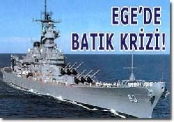 Ege'de Türk; Yunan Gerginliği
