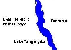 Tanganyika gölünde gemi kazası