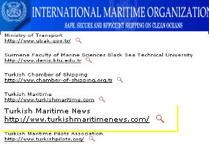 Turkish Maritime IMO listesinde