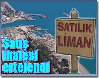 Antalya Limanı ihalesi ertelendi