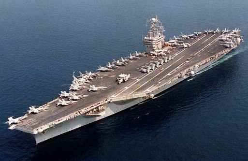 Japonya'dan ABD uçak gemisine onay