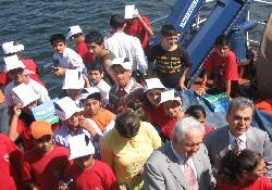 Deniz çocukları deniz ile buluştu