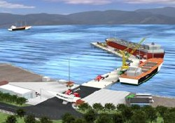 Yeni Güllük Limanı açılış için hazır