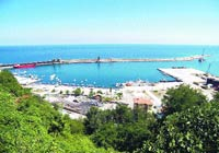 124 yılda tamamlanan liman