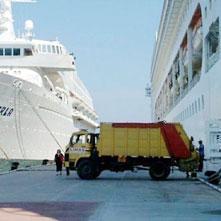 Cruise gemilerinin çöpü Türkiye'ye