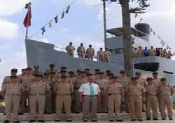 """""""Nusrat"""" gemisine anlamlı ziyaret"""